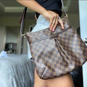 Louis Vuitton Authen Damier Ebene Bloomsbury Bag